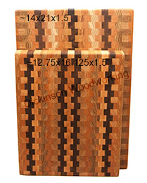 large end grain boards