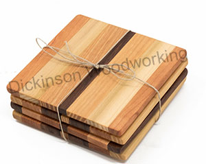 multiwood Coaster set