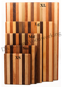 multiwood plain cutting boards