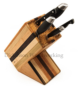 single knife block